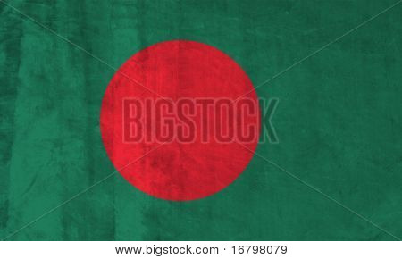 Grunge Flag of Bangladesh