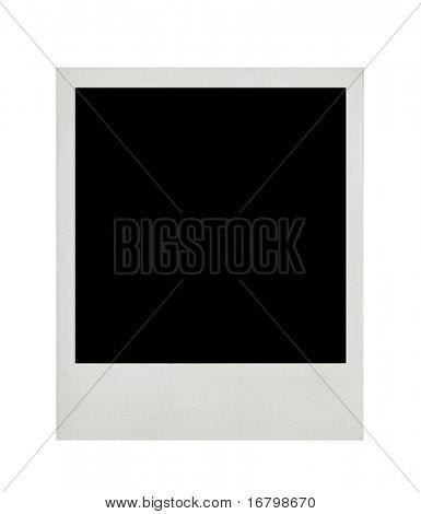 Blank photo card, hi-res