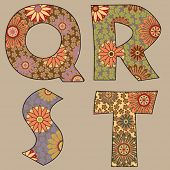 picture of alphabet letters  - art letter - JPG