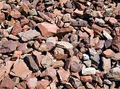 picture of scoria  - Red stones - JPG