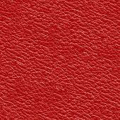 Постер, плакат: Красные кожаные бесшовные шаблон