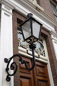 Classicist Door And Lantern