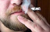 image of cigarette-smoking  - Close - JPG