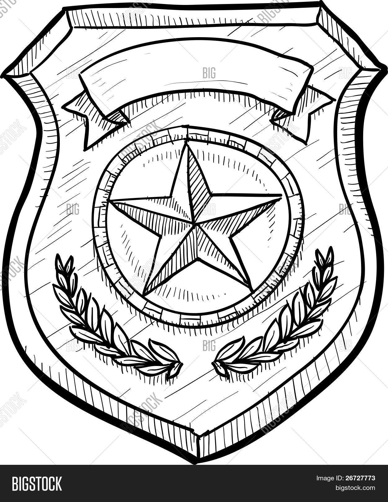 Social Media Whatsapp Social Hand Drawn 119262 likewise Heraldic Design Coat Arms Lion Shield Vintage St as well Handcuffs moreover MT P together with Police Officer Or Policeman Profession Sketch Icon Vector 18590165. on security badge drawing