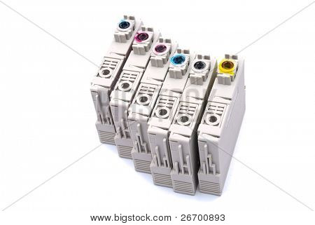 Cartridges empty