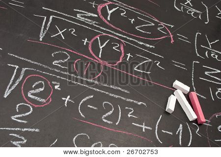 Mathematical equation