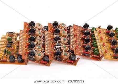 Electronic circuit plates