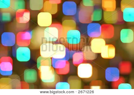 Abstract Colourful Lights