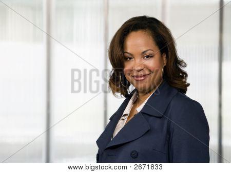 US-amerikanische Geschäftsfrau