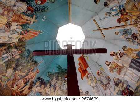 Magellans Cross In Cebu Philippines