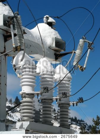 Icy Electric Insulators
