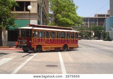 Downtown Tour Bus