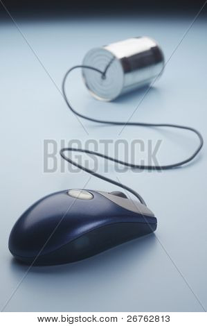 concept of communication on white background