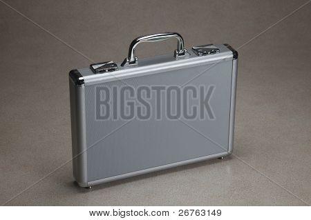 Lager Bild von der Aktentasche