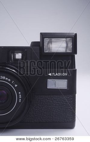 old fashion of point and shot camera