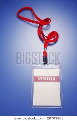 stock image of the pass tag