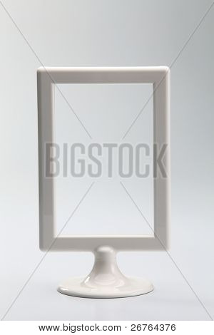 stock imagee of the picture frame with stand