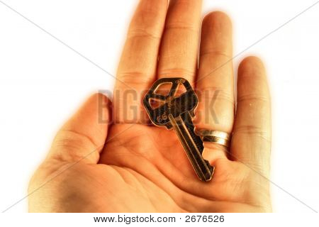 Hand And Key