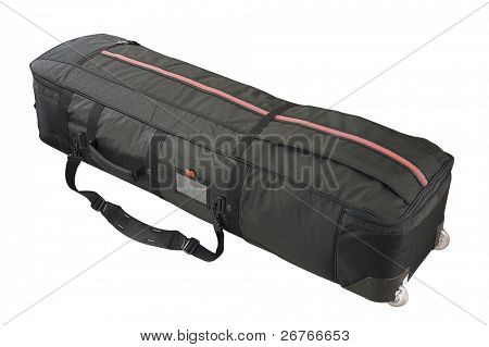 Luggage bag isolated on white background.