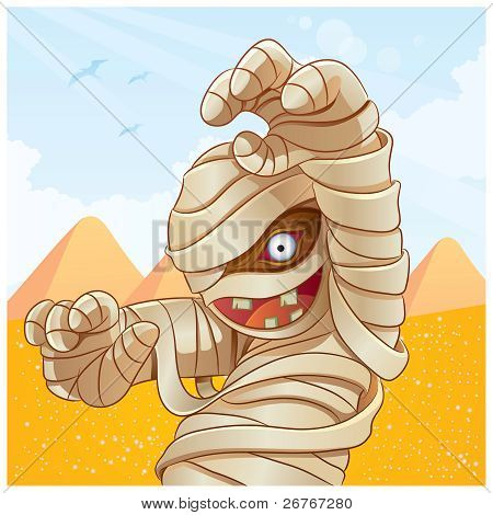Mummy Cartoon
