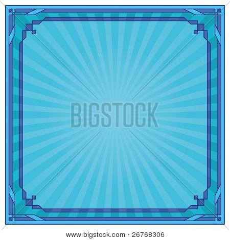 Antecedentes, marco, azul