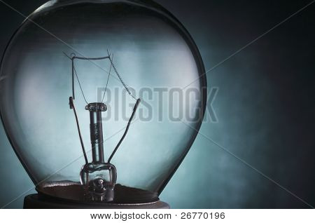 stock image close up of the light bulb