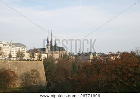 Autumn in Luxembourg (November 2006)