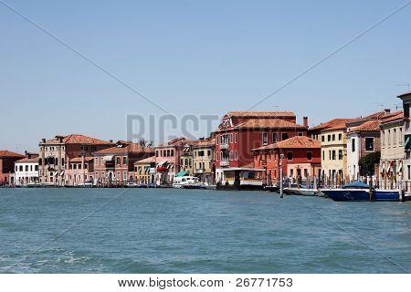 Famous Murano island (Venice, Italy)