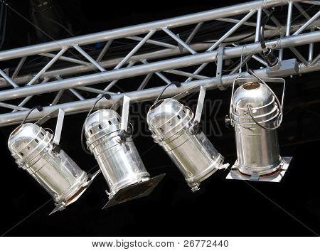 Fragments of stage illumination