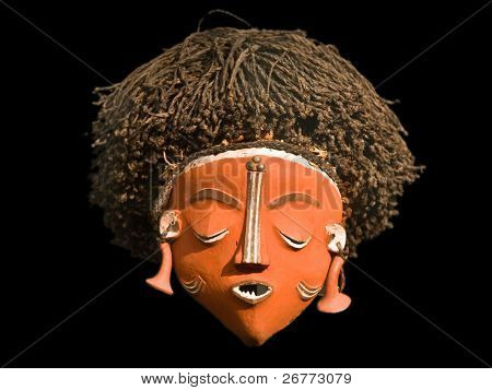 African female mask (Central Africa)