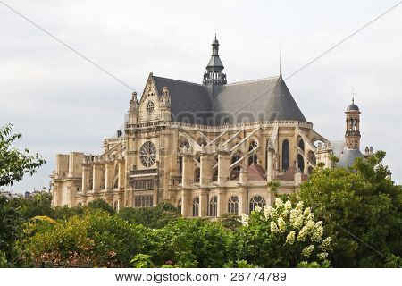 Eglise Saint-Eustache church, Paris, France