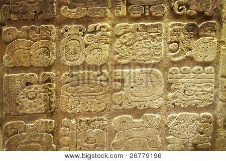 Talla en el Museo de piedra Azteca