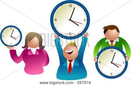 Clock People