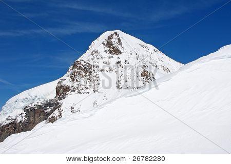 Eiger. Famous mountain in the Jungfrau region
