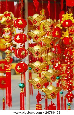 chinese gift used during spring festival.