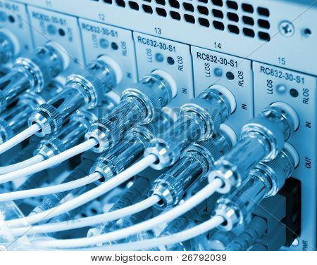 communication and internet network server