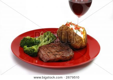 Steak And Potato