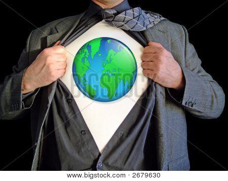 Mapamundi de superhéroe