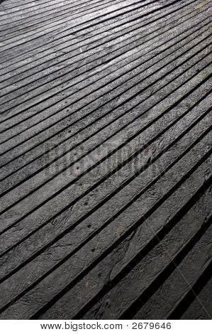 Wood Effect Textured Plastic Planks