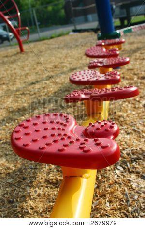 School Playground Stepping Stones