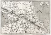 pic of bonaparte  - Old Caucasus map - JPG