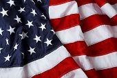 foto of american flags  - American flag background  - JPG