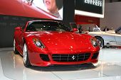 GENEVA - MARCH 7: Ferrari  599XX on display at the 79th International Motor Show Palexpo-Geneva on M