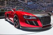 GENEVA - MARCH 8: The new Audi TT Quattro preview on display at the 81st International Motor Show Pa