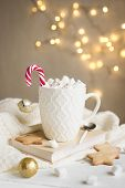 Peppermint Hot Chocolate poster