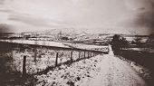 Pendle Hill, Lancashire - England. The Hill Is Famous For Its Links To Three Events Which Took Place poster