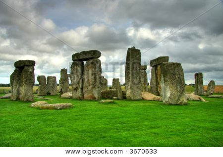 Stonehenge On Salisbury Plains