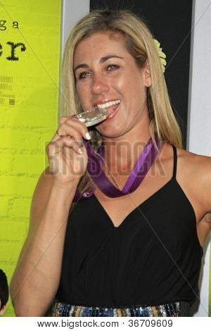 LOS ANGELES - SEP 10:  April Ross arrives at
