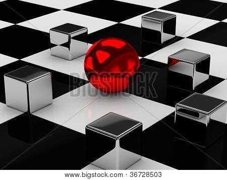 The Metal Cubes