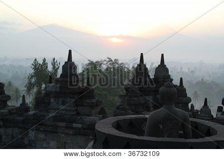 Borobodur sunrise